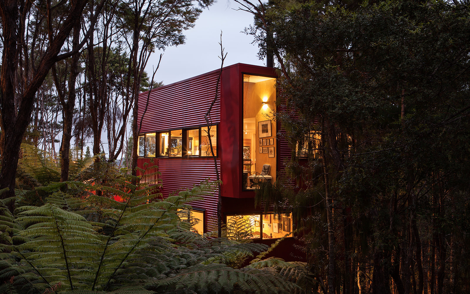 Red House Titirangi Crosson Architects Crosson Architects
