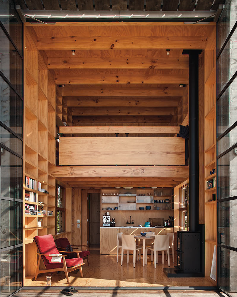 Hut on Sleds | Whangapoua | Architectural Designs Crosson ...
