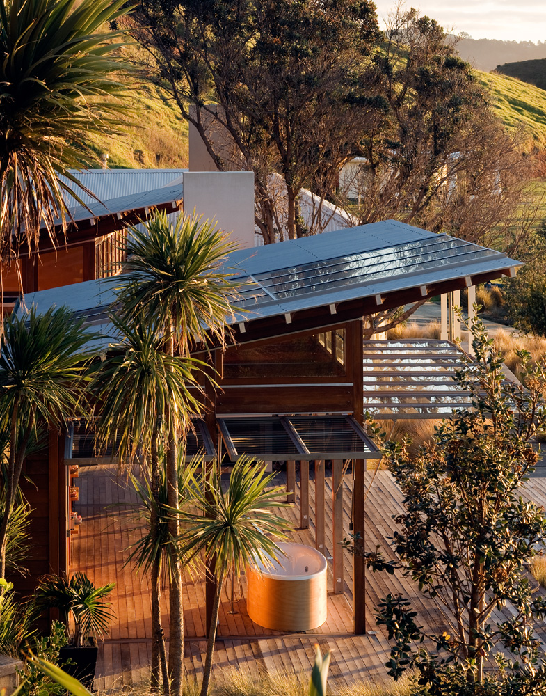 Step Island Retreat Bay Of Islands Crosson Architects