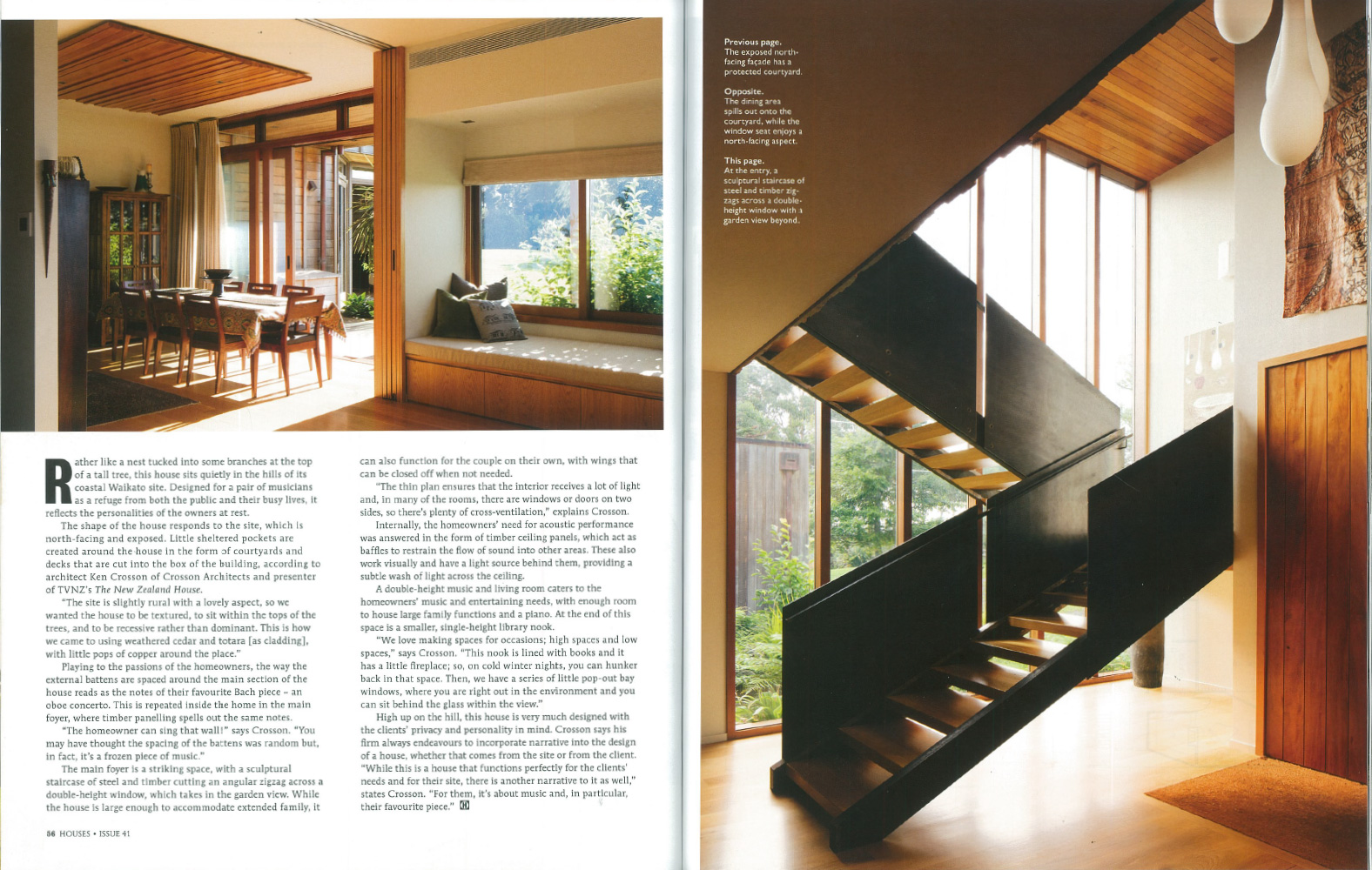 houses magazine article nz