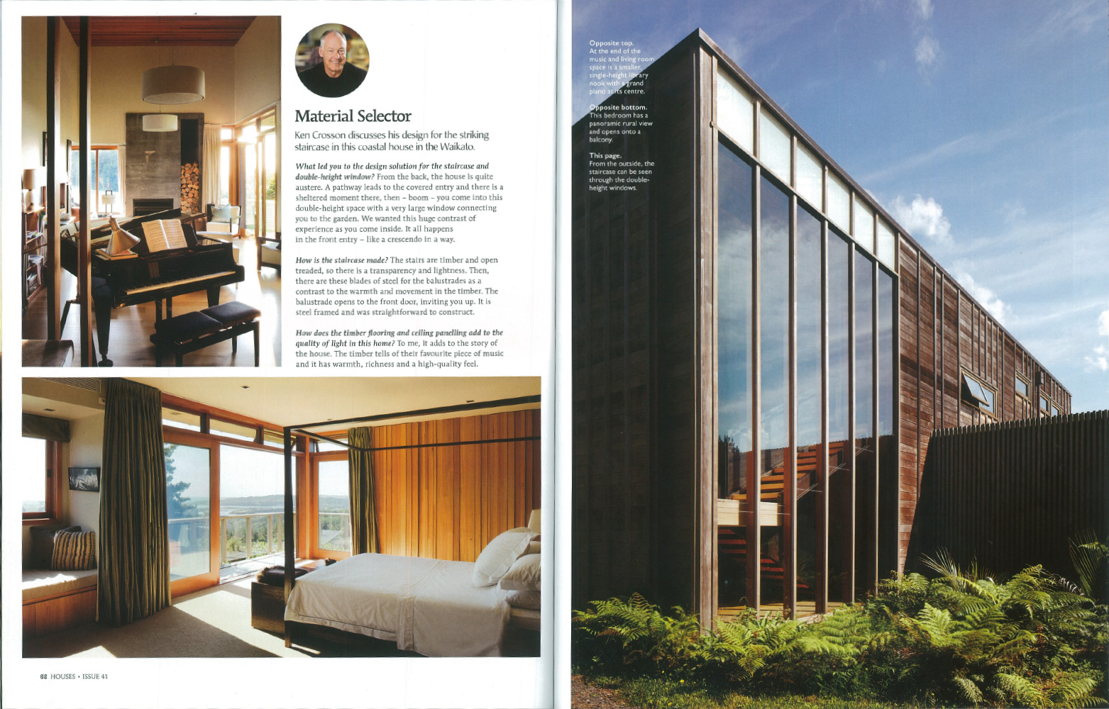 houses magazine spread