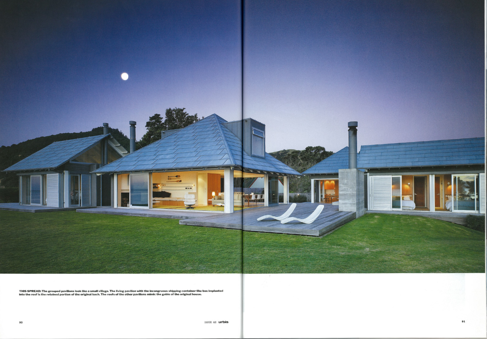 house design in magazine
