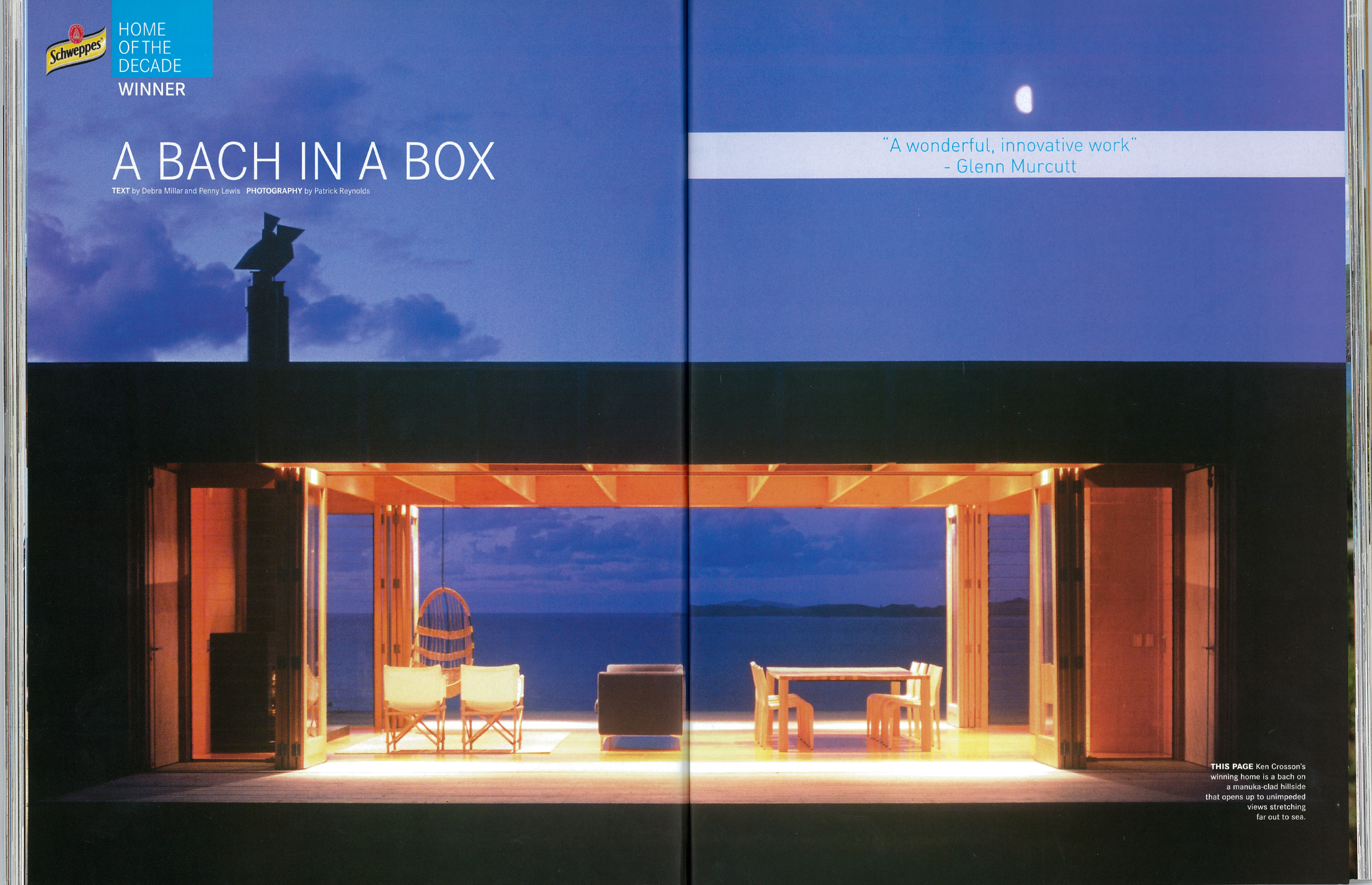 A bach in a box crosson architects