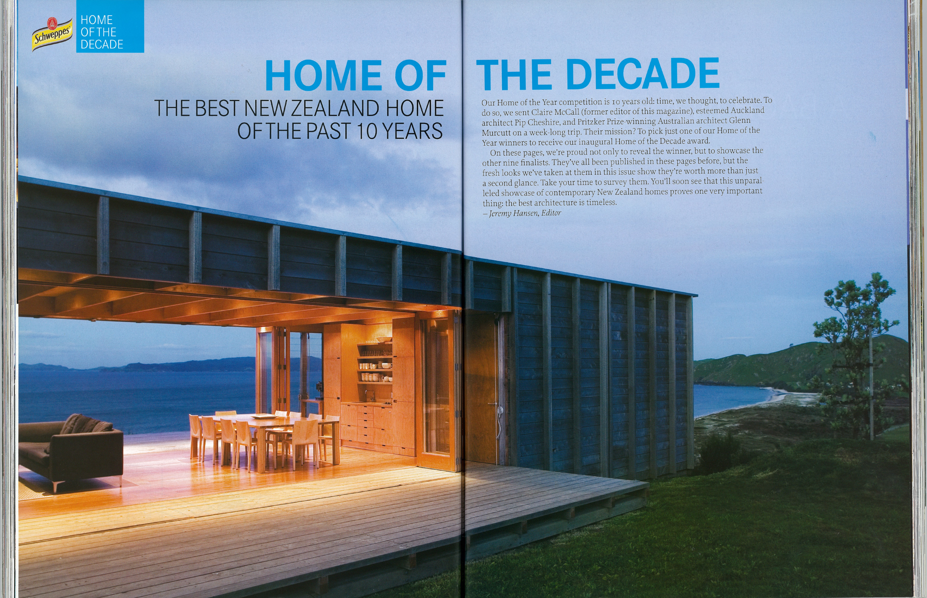 home of the decade home magazine