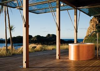 outdoor bath luxury spa